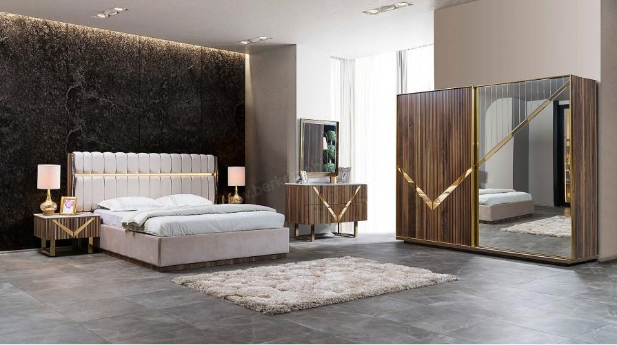 Venüs Ceviz Yatak Odası Takımı