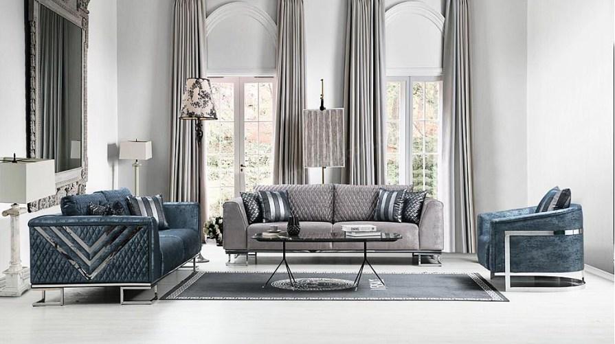 Vip Modern Luxury Koltuk Takımı Tri