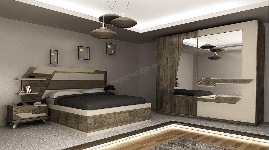 Dark Modern Yatak Odası Takımı