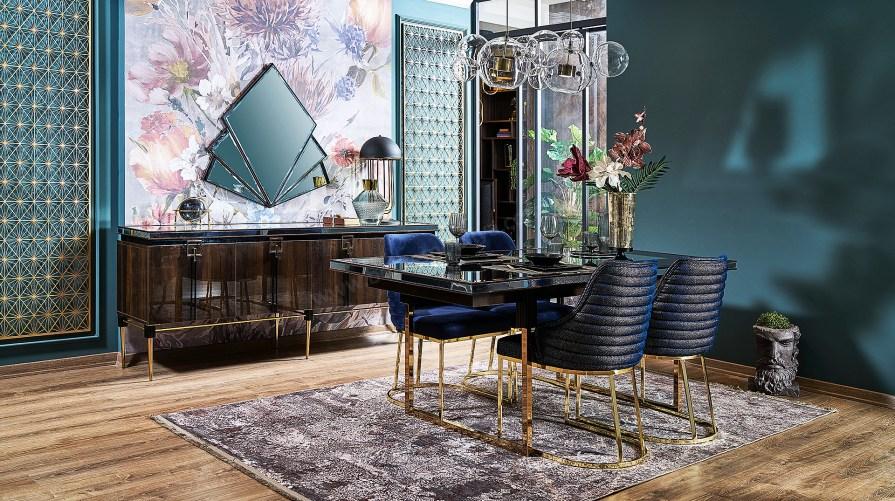 Zara Luxury Yemek Odası Takımı