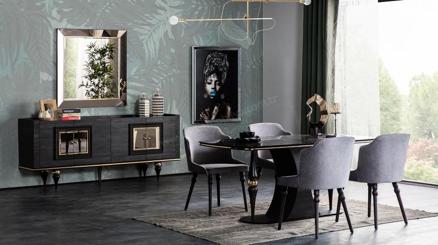 Zen Art Deco Yemek Odası Takımı