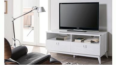 Almoda Beyaz  Tv Sehpası