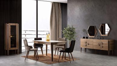 Torino Modern Yemek Odası Takımı