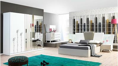 Çizgi Modern Yatak Odası Takımı