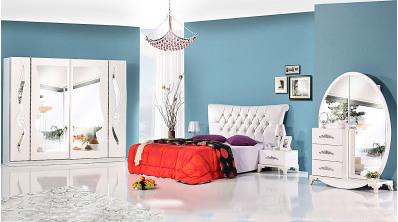 Roza Avangarde Yatak Odası Takımı