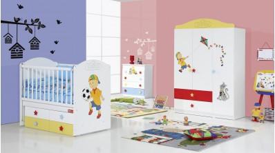 Caillou Bebek Odası 3Kp Gardrop - Beşik
