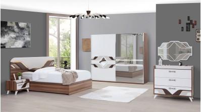 Defne Ceviz Yatak Odası Takımı