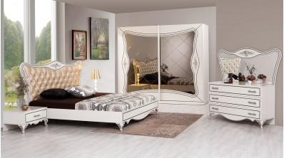 Halkalı Avangarde Yatak Odası Takımı