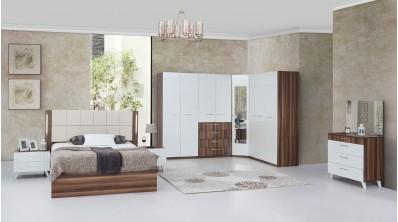 Nell Modern Köşe Yatak Odası Takımı