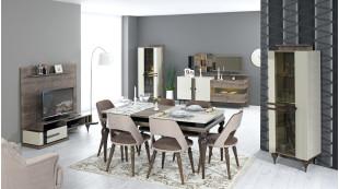 Milano Modern Yemek Odası Takımı